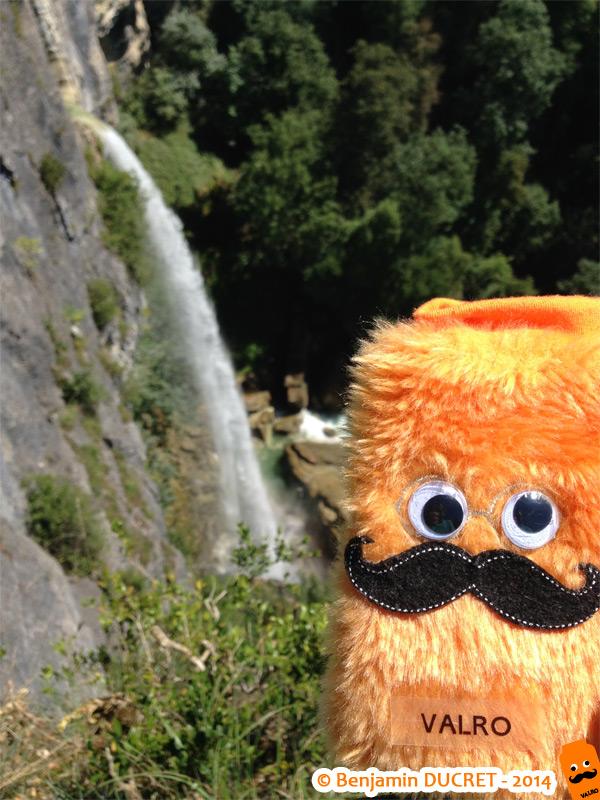 Valro à la Cascade de Cerveyrieu