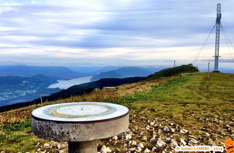 Le Grand Colombier et sa table d'orientation
