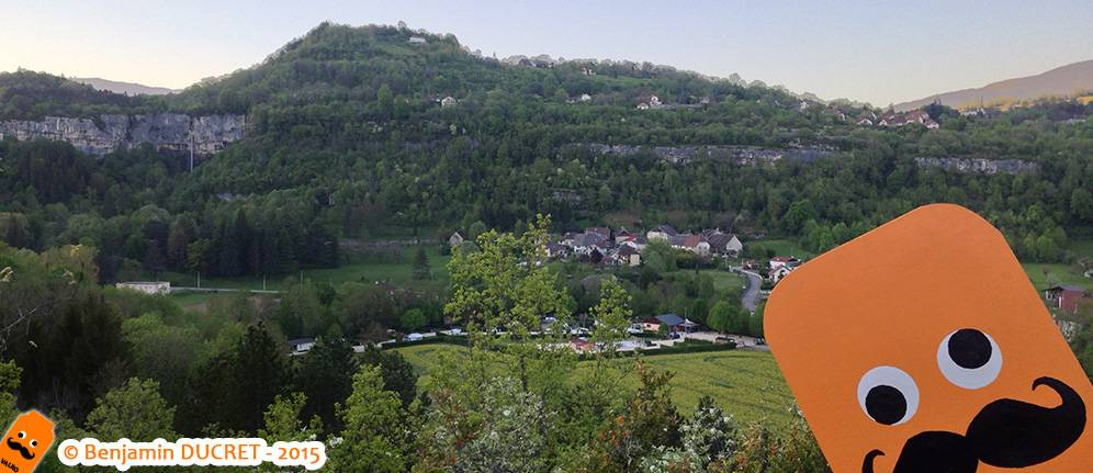 Cascade vue du Fierloz avec Valro