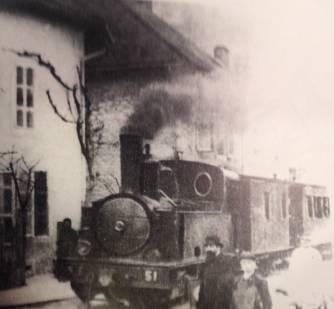 Le Petit Train du Valromey - années 1920